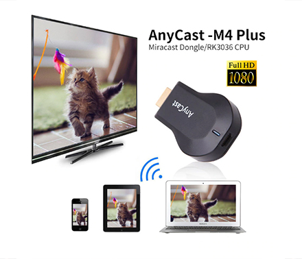Медиаплеер AnyCast M9 Plus TV Stick